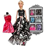Planet Of Toys 30 Cm Blond Doll With Dress, Accessories For Kids, Children