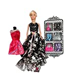 #10: Planet of Toys 30 Cm Blond Doll With Dress, Accessories For Kids, Children