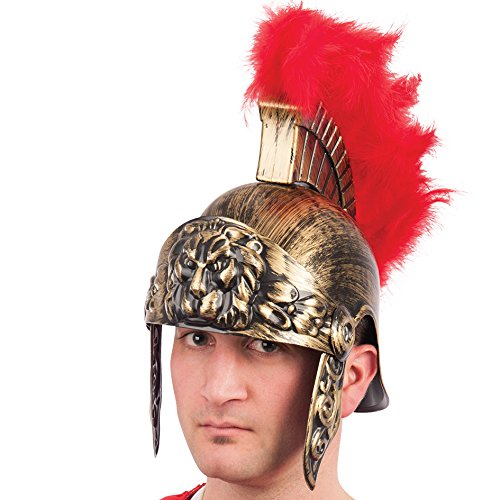 Kostüm Römische Perücke - Carnival Toys 6148 - Römerhelm mit Wappen