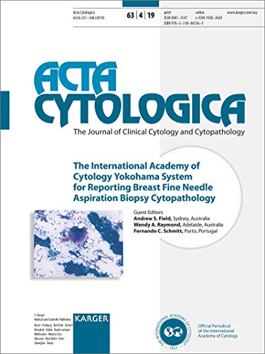 The International Academy of Cytology Yokohama System for Reporting Breast Fine Needle Aspiration Biopsy Cytopathology: Special Topic Issue: Acta Cytologica 2019, Vol. 63, No. 4 -