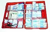 VERBANDSKASTEN Erste Hilfe Koffer Lüllmann DIN 13157 Verbandkasten inkl. Wandhalter orange 620152 Vergleich