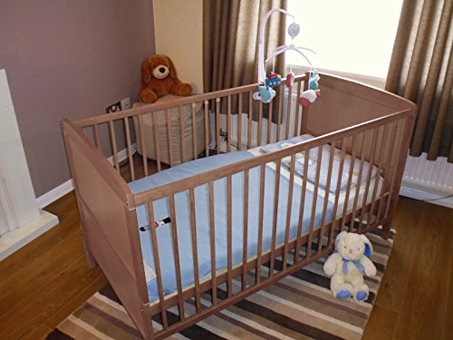 B4Beds COUNTRY PINE BABY COT BED WITH FREE MATTRESS