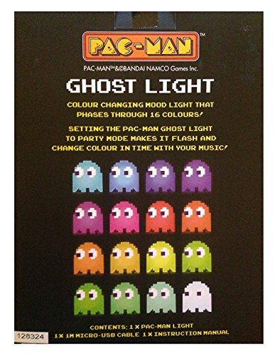 Pac Man Lámpara Mesilla Pacman, Multicolor