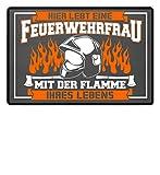 Nahual Feuerwehr Feuerwehrfrau Vergeben Paar - Fußmatte
