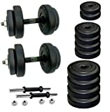 #10: Body Maxx 10 Kg PVC Dumbells Sets Combo 2