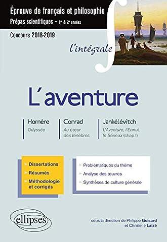 Conrad Coeur Des Tenebres - L'aventure - V. Jankélévitch, L'aventure, l'ennui, le
