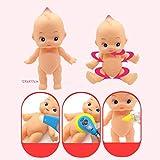 Sharplace Mini Realistische Baby Puppen Spielzeug für Kinder Dokotor Rollenspiel Zubehör