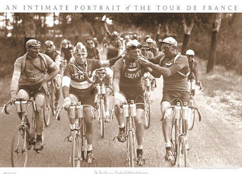 Raucher Presse E Sports Vintage Tour de France Racing Radfahren Poster Print 76,2 x 55,9 -