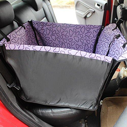 Kaxima Oxford chiffon Pet voiture coussin chat chien avec voiture chien coussin imperméable à l'eau sur le coussin du siège arrière (60 * 50 * 35 cm)