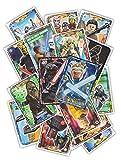LEGO Star Wars Serie 1 Sammelkarten - 25 Karten Gemischt inkl. 1x seltene Sith oder Yedi Holo-Karte - deutsche Ausgabe
