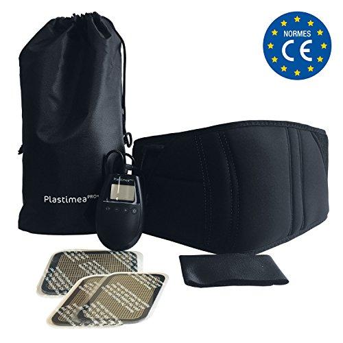 MEABELT 1000 - Cinturon Electroestimulador Abdominal EMS - Ejercitador y Tonificador Muscular para Hombre o Mujer - Aparato de Fitness Electronico