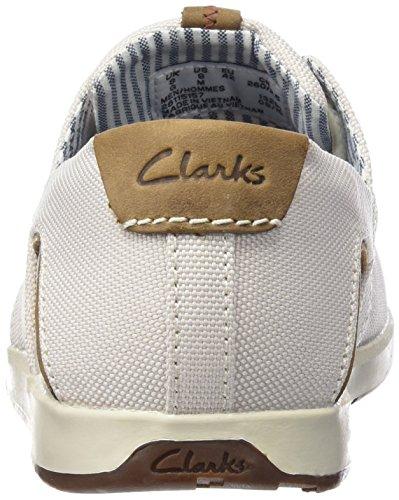 Clarks Norwin Go Men Scarpe Stringate Bianche (bianco Sporco)
