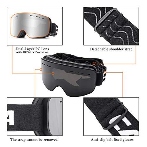 Zoom IMG-3 camtoa occhiali da sci snowboard