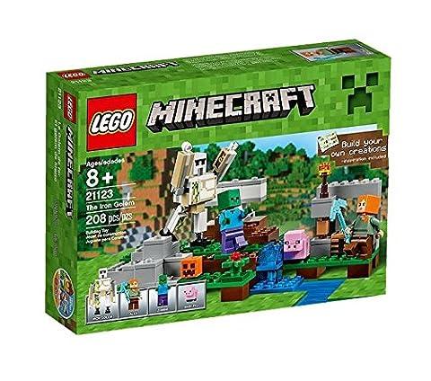 LEGO - 21123 - Minecraft - Jeu de Construction - Le Golem de Fer