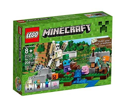 Preisvergleich Produktbild LEGO Minecraft 21123 - Der Eisengolem