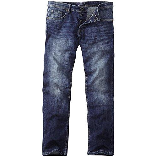 Slim Fit Jeans in verwaschener Optik von Charles Wilson Mittlere Waschung