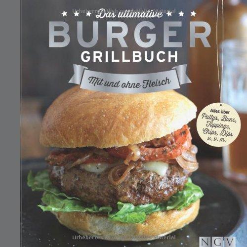 Buchseite und Rezensionen zu 'Das ultimative Burger-Grillbuch: Mit und ohne Fleisch' von Sabine Durdel-Hoffmann