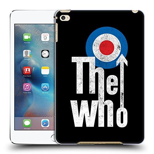 Head Case Designs Offizielle The Who Klassisches Target Logo Band Kunst Ruckseite Hülle für iPad Mini 4