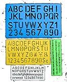 Anker International LST/4, Cancelleria Lettering Stencil