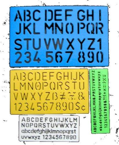27a4b090a8 Anker International LST/4, Cancelleria Lettering Stencil