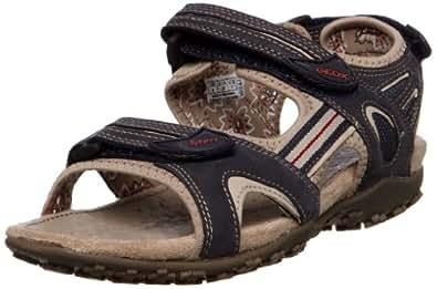 Geox Women's D Sandal Strel C Navy Ankle Strap D1125C5415C4002 2.5 UK, 35 EU