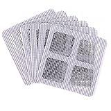 Livecity, 3 Stück Anti-Insekten-Mückenschutz-Fenstergitter Reparaturklebeband., weiß, 10*10
