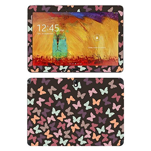 "Disagu SF-105234_1268 Design Displayschutzfolie für Samsung SM-P600 Galaxy Note, (2014) Edition WiFi - Motiv Bunter Schwarm 06"" Klar"