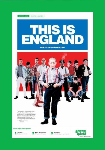 This Is England Plakat Movie Poster (11 x 17 Inches - 28cm x 44cm) (2006) Icelandic