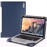 Broonel London - Profile Series - Etui bleu en cuir de luxe pour ordinateur portable pour Sony Vaio Z Flip