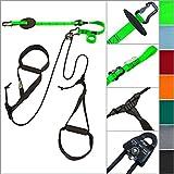 eaglefit® Sling Trainer ALLROUND; Schlingentrainer mit Umlenkrolle, Türanker, Aluminium-Karabiner