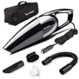 Tsumbay Car Vacuum, 5000PA Strong Suction Car Vacuum Cleaner 120W High Power Handheld
