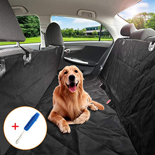 Accessori Cane Auto,ZOTO Coprisedili per Cani Impermeabili,Per Cani Con Doppi Strati per Sedile Posteriore,Antiscivolo Coprisedili Antigraffio per Cani,Universal Fit Pet da Viaggio Car Boot Protector