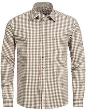 Almsach Trachtenhemd Regular Fit in Beige