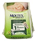 3x MOLTEX Nature No1 Ökowindeln Babywindeln NEWBORN Gr 1 (2-4 kg) 28 Stück