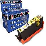 Wow 1x Druckerpatrone Komp. für HP 935XL 935 XL Yellow für HP Officejet Pro