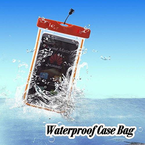 ZeWoo Sac Etanche Smartphone En Moins De Portable De 5.7 Pouces Universelle - Compatible avec Apple iPhone 3gs / 4 / 4S / 5 / 5S / 5C / 6 / 6 Plus / iPod Touch 4(3.5 Pouces) / Touch 5(4 Pouces) - Hous 01003
