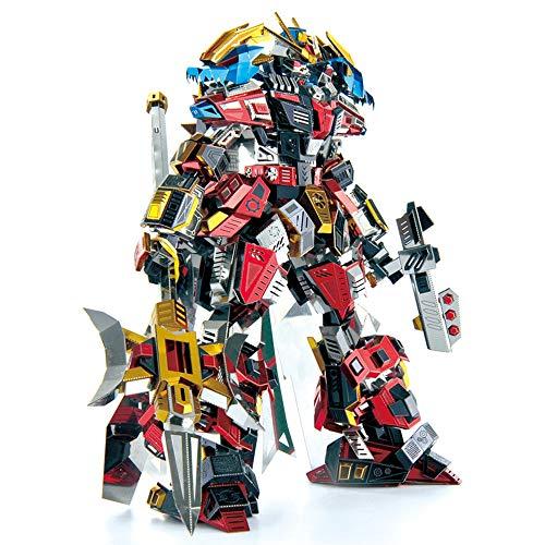 MQKZ interstellarer Gott des Krieges 3D Maßmetall zusammengebautes vorbildliches erwachsenes Dekompressionsspielzeug DIY Laser geschnittenes zackiges Geschenk / Mehrfarben + Werkzeuge A / one Größe (Lego Spider Man Black)
