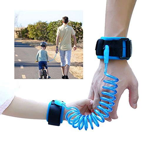 ASkyl Child Wrist Strap Link Leash Walking Safety Harness - For Parent, Baby, Kid, Toddler