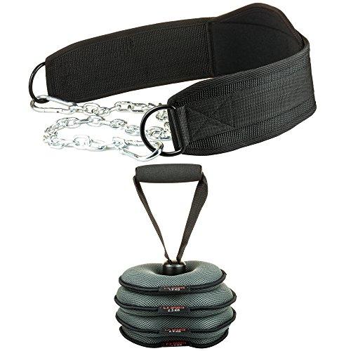 C.P.Sports Dip-Gürtel (Dipgürtel, Dippgürtel) Trainingsgürtel inkl. verstellbarem Gewicht (nur Dipgürtel)