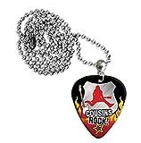 Best Cousin Chains - Cousins Cousin Rock Guitar Pick Necklace Plectrum Chain Review
