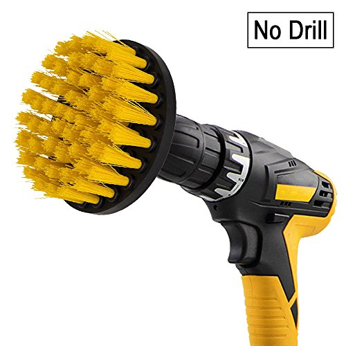 drill brush sleepsoon spin scrubber electric cleaning brush power scrubbing brush drill fixing. Black Bedroom Furniture Sets. Home Design Ideas