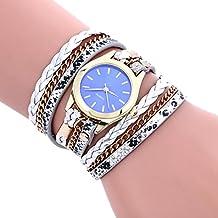 -Reloj de pulsera analógico de Sonnena Watches, de acero inoxidable, con joyas,