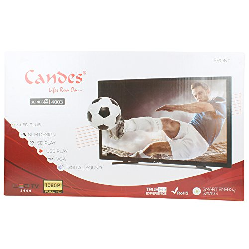 Candes 60 cm (24 inches) Series 4003 Slim Full HD Ready LED TV (Black)