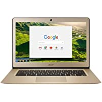 Acer Chromebook 14 CB3-431 - (Intel Celeron N3060, 2GB RAM, 32GB eMMC, 14 inch HD Display, Google Chrome OS, Gold)