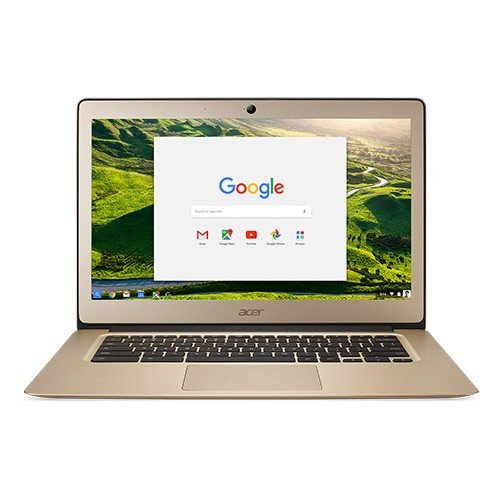 Acer Chromebook 14 CB3-431 14-Inch Notebook - (Luxury Gold) (Intel N3060 Celeron Processor, 2 GB RAM, 32 GB eMMC, Chrome OS) - Black