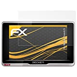 atFoliX Schutzfolie für Becker Transit.5 Displayschutzfolie - 3 x FX-Antireflex blendfreie Folie