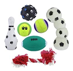 Sports Pet Toy Gift Set 7 Piece (pack of 1 EA)