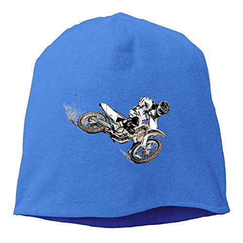 Womens Knit Skull Beanie Hats Funny Motocross Warm Fashion Watch Cap