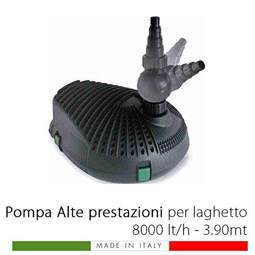 PROJECT POMPA PER LAGHETTO ALTE PRESTAZIONI STAGNI 8000 LT/H