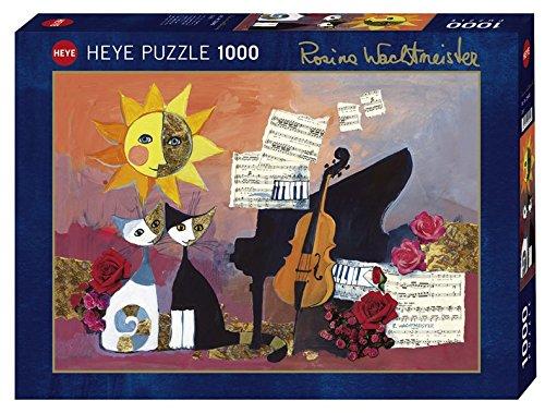 Heye - Heye-29449 - Puzzle Classique - Cello - 1000 Pièces